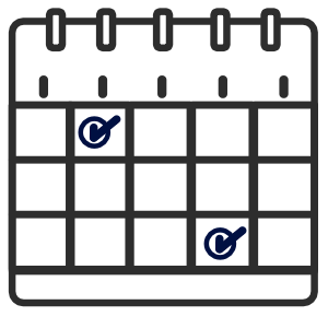 schedule icon for breakdown cover