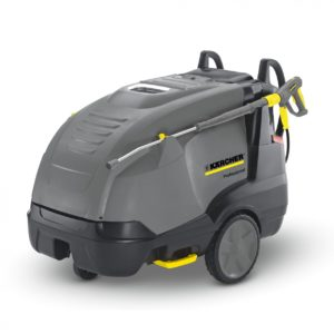 7/10 mobile hot pressure washer 240v by karcher