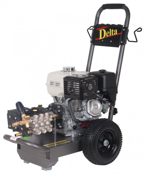 delta petrol washer with interpump head
