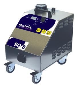 Matrix SO8 dry steam cleaner
