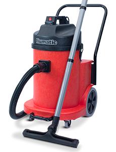 indutrial dry vacuum cleaner red