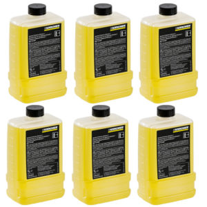 six bottles of karcher rm110 water softener